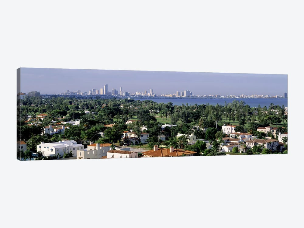 High Angle View Of The City, Miami, Florida, USA by Panoramic Images 1-piece Canvas Art Print