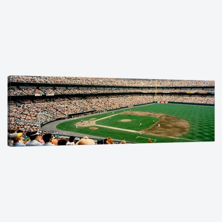 High angle view of a baseball field, Baltimore, Maryland, USA #2 Canvas Print #PIM4481} by Panoramic Images Canvas Print