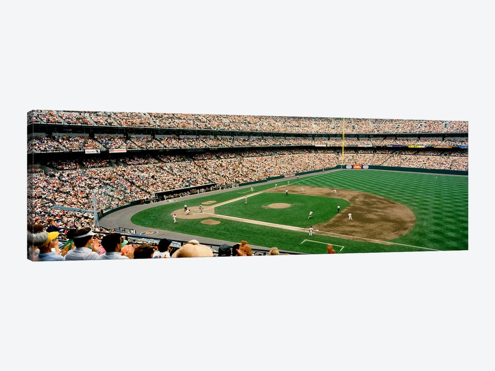 High angle view of a baseball field, Baltimore, Maryland, USA #2 by Panoramic Images 1-piece Canvas Artwork