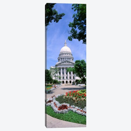 USA, Wisconsin, Madison, State Capital Building Canvas Print #PIM4486} by Panoramic Images Canvas Wall Art