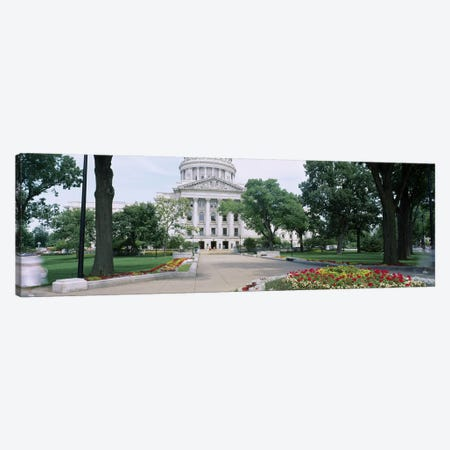 State Capital Building, Madison, Wisconsin, USA Canvas Print #PIM4487} by Panoramic Images Canvas Wall Art