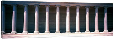 Row of Columns San Francisco CA Canvas Art Print