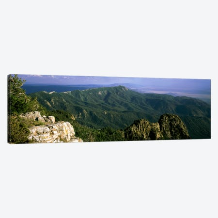 Sandia Mountains, Near Albuquerque, New Mexico, USA Canvas Print #PIM449} by Panoramic Images Canvas Art