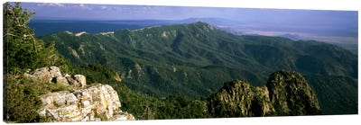 Sandia Mountains, Near Albuquerque, New Mexico, USA Canvas Art Print