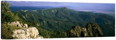 Sandia Mountains, Near Albuquerque, New Mexico, USA Canvas Art Print