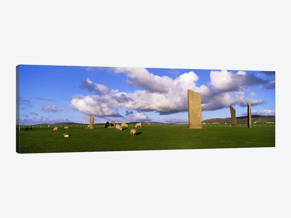 Stones Of Stenness, Orkney Islands, Scotland, United Kingdom by Panoramic Images 1-piece Art Print
