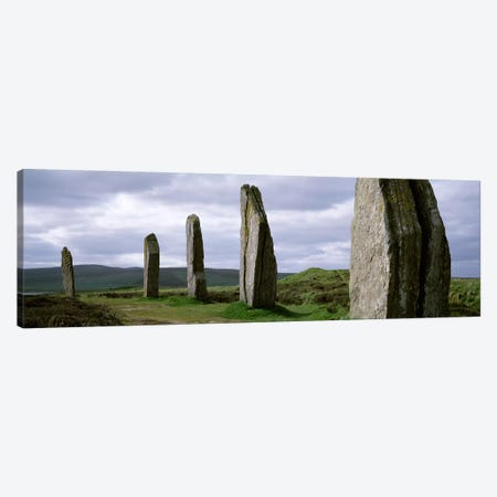 Ring Of Brodgar, Orkney Islands, Scotland, United Kingdom Canvas Print #PIM4513} by Panoramic Images Canvas Art Print