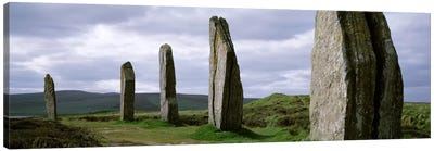 Ring Of Brodgar, Orkney Islands, Scotland, United Kingdom Canvas Art Print