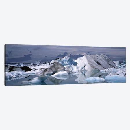 Vatnajokull (Water Glacier), Vatnajokull National Park, Iceland Canvas Print #PIM4531} by Panoramic Images Canvas Art Print