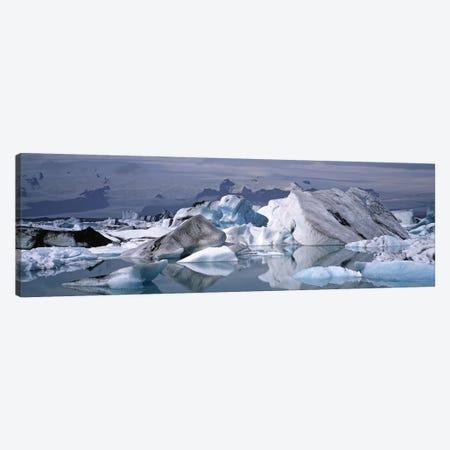 Vatnajokull (Water Glacier), Vatnajokull National Park, Iceland Canvas Print #PIM4531} by Panoramic Images Canvas Art Print