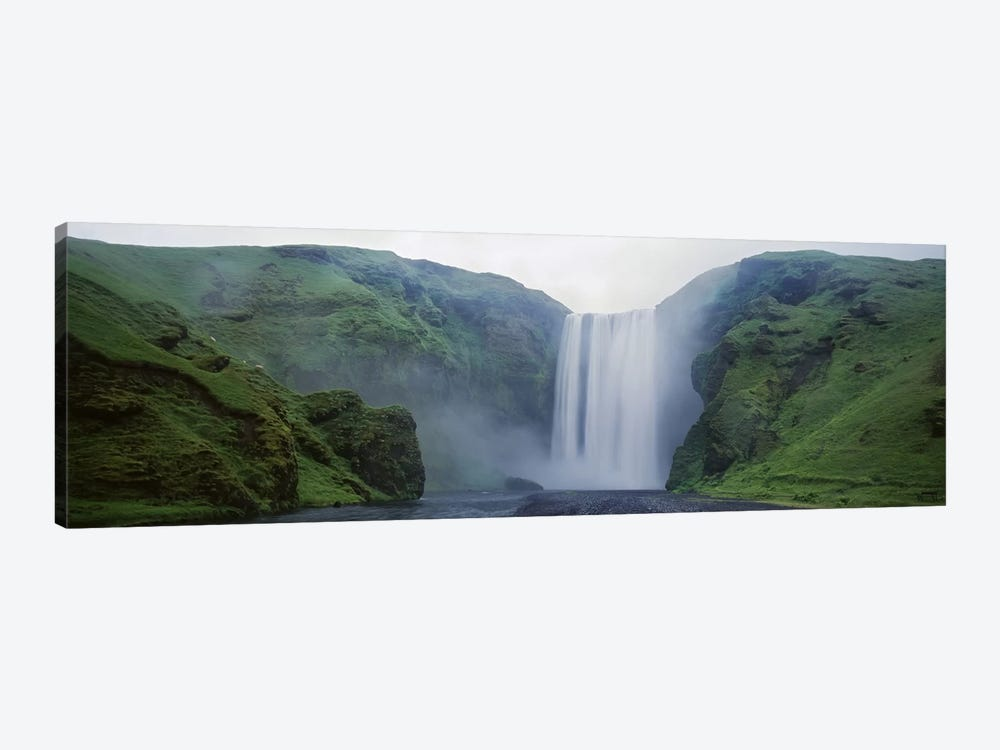 Skogafoss, Skogar, Iceland by Panoramic Images 1-piece Canvas Print