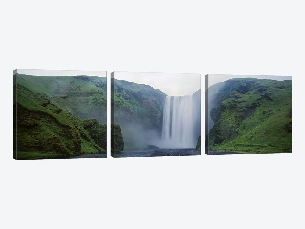Skogafoss, Skogar, Iceland by Panoramic Images 3-piece Art Print