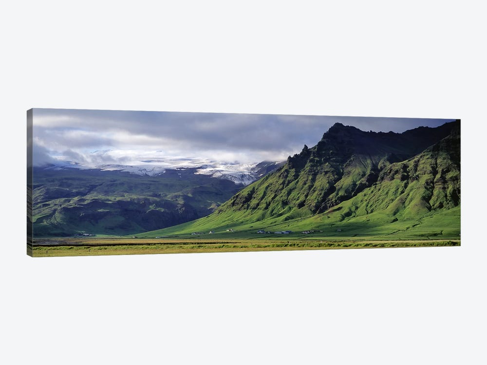 Mountain Valley Landscape, South Coast, Iceland by Panoramic Images 1-piece Canvas Wall Art