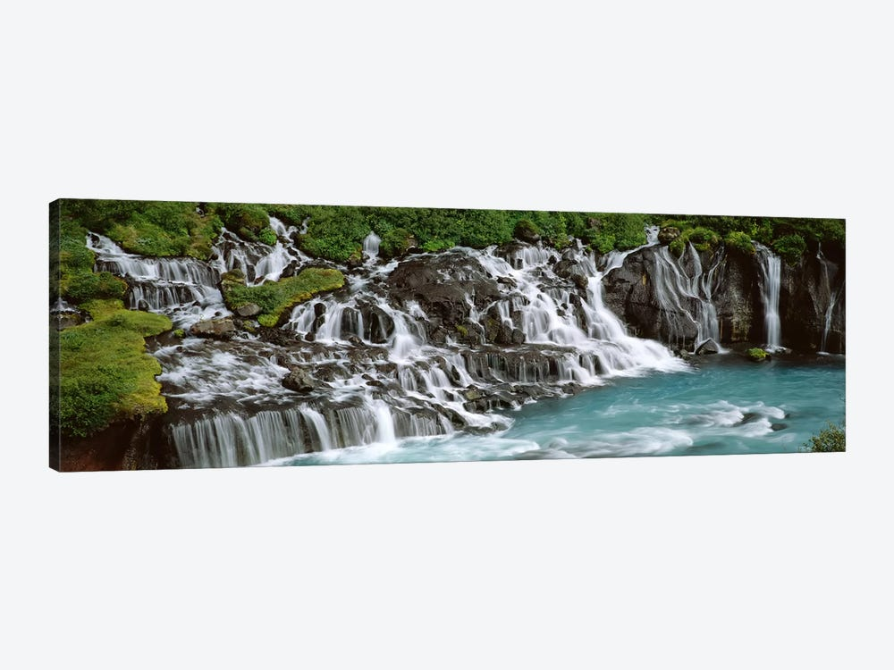 Hraunfossar, Iceland by Panoramic Images 1-piece Canvas Artwork