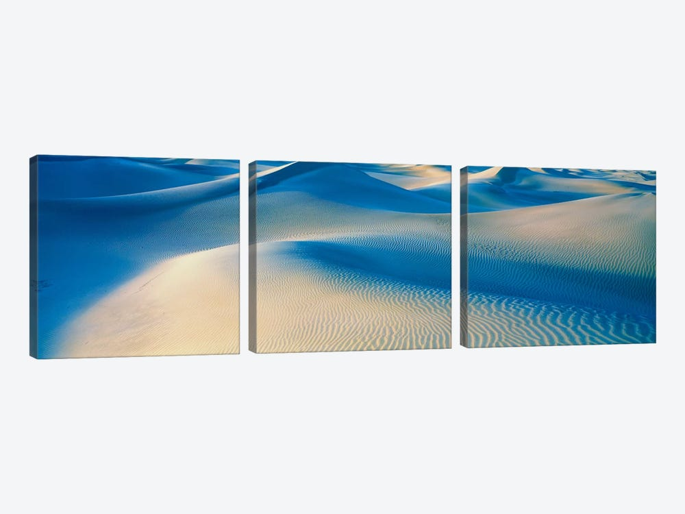 Mesquite Flats Death Valley National Park CA USA by Panoramic Images 3-piece Canvas Art Print