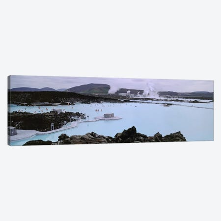 Blue Lagoon Geothermal Spa, Grindavik, Reykjanes Peninsula, Iceland Canvas Print #PIM4541} by Panoramic Images Canvas Art