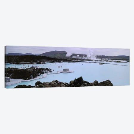 Blue Lagoon Geothermal Spa, Grindavik, Reykjanes Peninsula, Iceland Canvas Print #PIM4541} by Panoramic Images Canvas Art