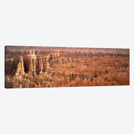 Hoodoos In An Amphitheater, Bryce Canyon National Park, Utah, USA Canvas Print #PIM4548} by Panoramic Images Canvas Artwork