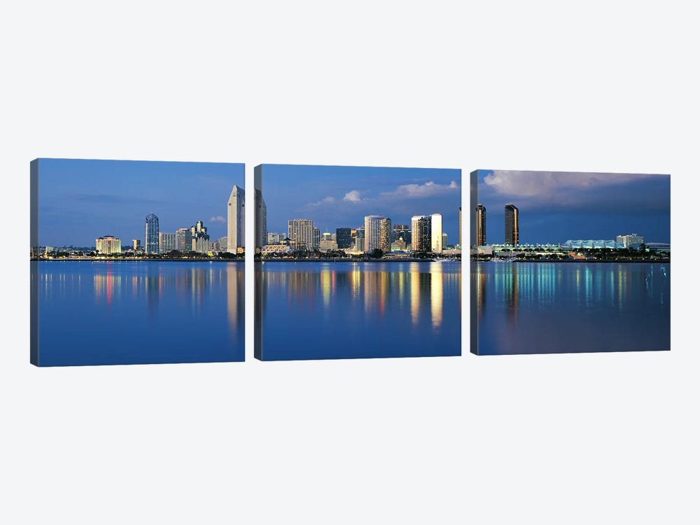 San Diego CA #2 by Panoramic Images 3-piece Art Print
