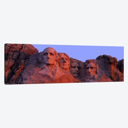 Mount Rushmore National Memorial II, Pennington County, South Dakota, USA Canvas Print #PIM4556} by Panoramic Images Canvas Artwork