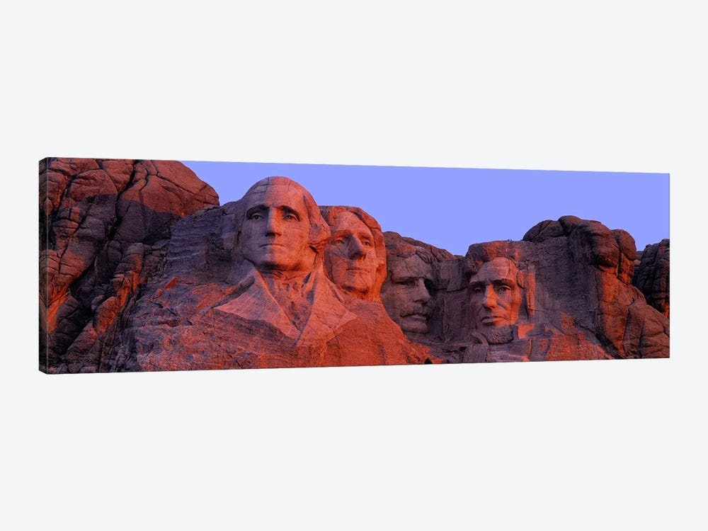 Mount Rushmore National Memorial II, Pennington County, South Dakota, USA by Panoramic Images 1-piece Canvas Art Print