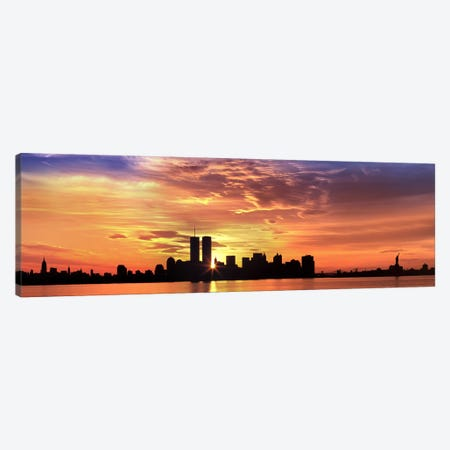 Urban Sunrise, New York City, New York, USA Canvas Print #PIM4558} by Panoramic Images Canvas Print