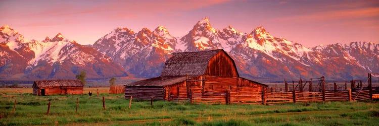 Barn Grand Teton National Park Wy Usa Canvas Art Icanvas