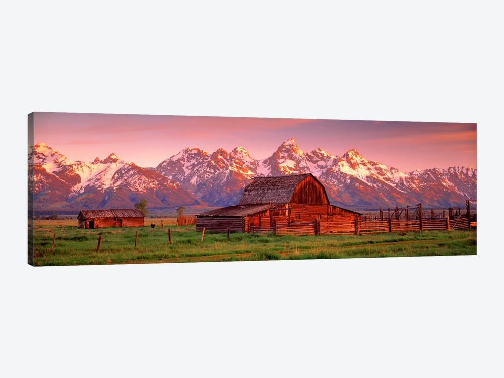 Barn Grand Teton National Park WY USA by Panoramic Images 1-piece Art Print