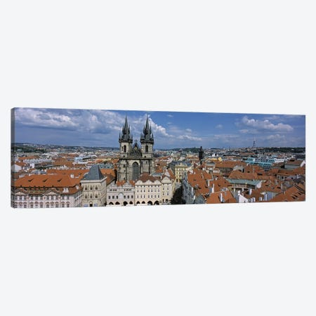 Church of our Lady before Tyn, Old Town Square, Prague, Czech Republic Canvas Print #PIM4560} by Panoramic Images Canvas Artwork