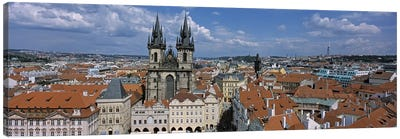 Church of our Lady before Tyn, Old Town Square, Prague, Czech Republic Canvas Print #PIM4560