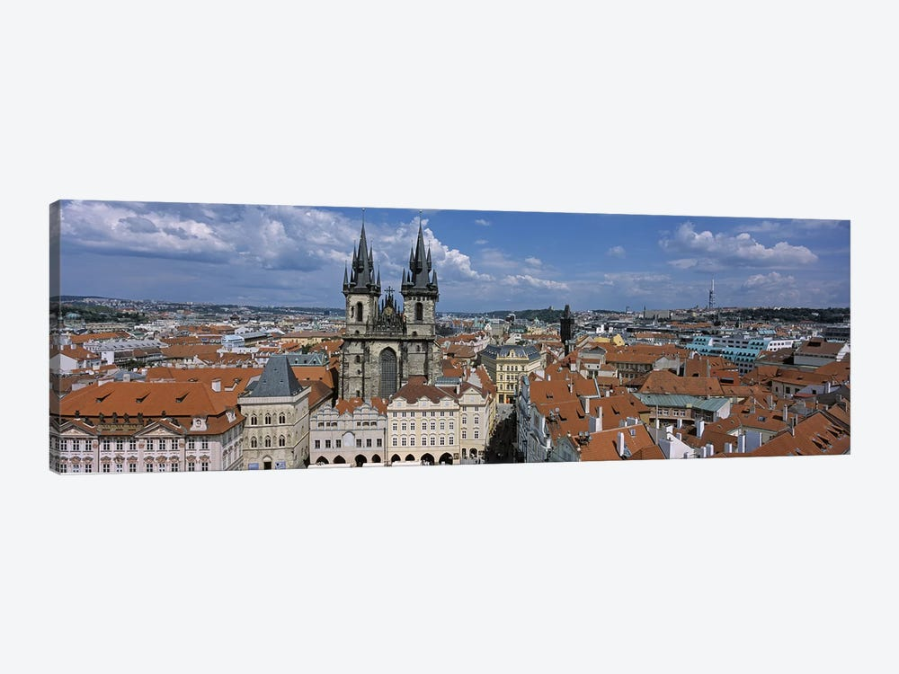 Church of our Lady before Tyn, Old Town Square, Prague, Czech Republic by Panoramic Images 1-piece Canvas Artwork