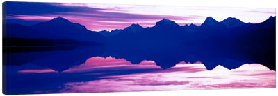 Sunrise Lake McDonald Glacier National Park MT USA Canvas Art Print