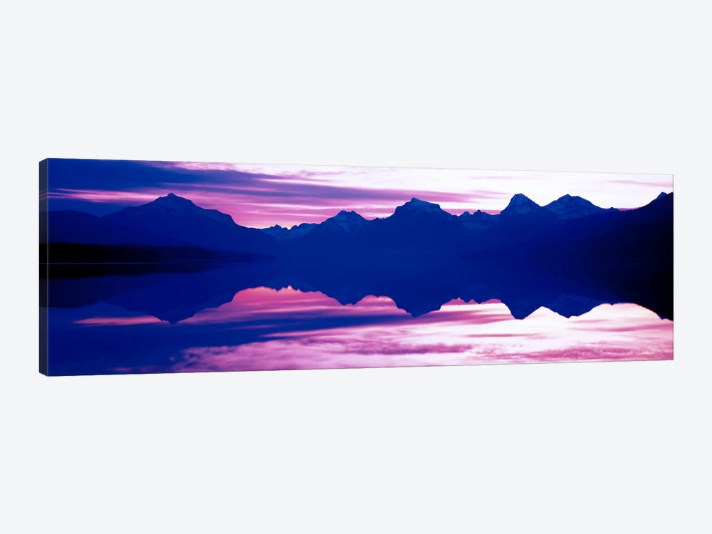 Sunrise Lake McDonald Glacier National Park MT USA by Panoramic Images 1-piece Canvas Artwork