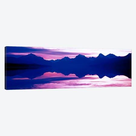 Sunrise Lake McDonald Glacier National Park MT USA Canvas Print #PIM456} by Panoramic Images Canvas Artwork