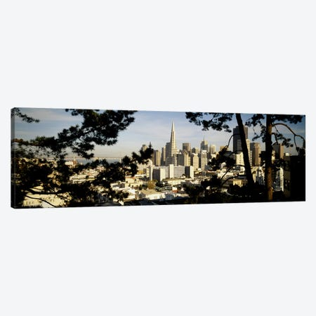 High Angle View Of A City, San Francisco, California, USA Canvas Print #PIM4593} by Panoramic Images Canvas Print
