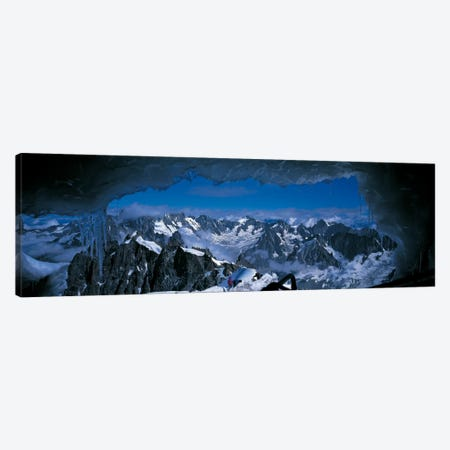 Cave Mt Blanc France Canvas Print #PIM459} by Panoramic Images Art Print