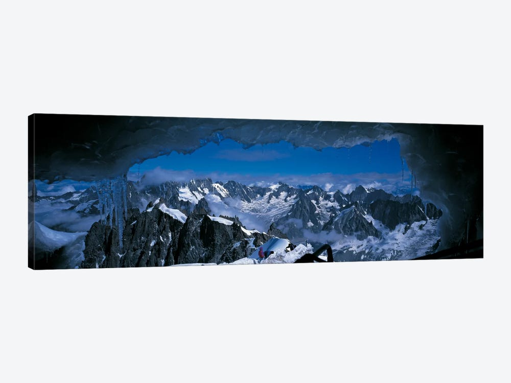 Cave Mt Blanc France by Panoramic Images 1-piece Canvas Print