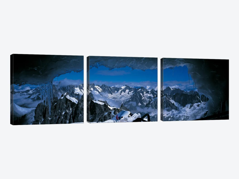 Cave Mt Blanc France by Panoramic Images 3-piece Canvas Print
