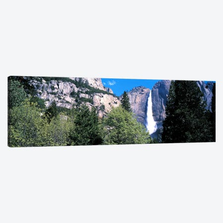 Yosemite Falls Yosemite National Park CA USA Canvas Print #PIM45} by Panoramic Images Canvas Art Print