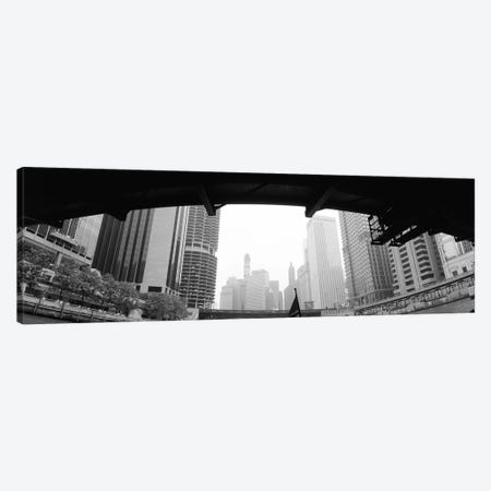 Low angle view of buildings, Chicago, Illinois, USA Canvas Print #PIM4604} by Panoramic Images Canvas Art