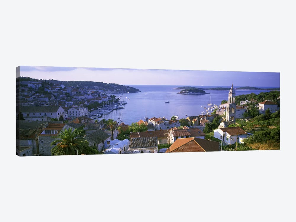 Port Of Hvar, Split-Dalmatia County, Republic Of Croatia by Panoramic Images 1-piece Canvas Art Print