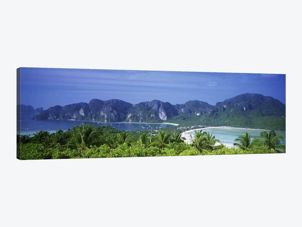 Tropical Limestone Mountains, Ko Phi Phi Don, Phi Phi Islands, Thailand by Panoramic Images 1-piece Art Print