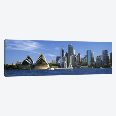 Central Business District Skyline, Sydney, New South Wales, Australia Canvas Print #PIM4638} by Panoramic Images Canvas Art