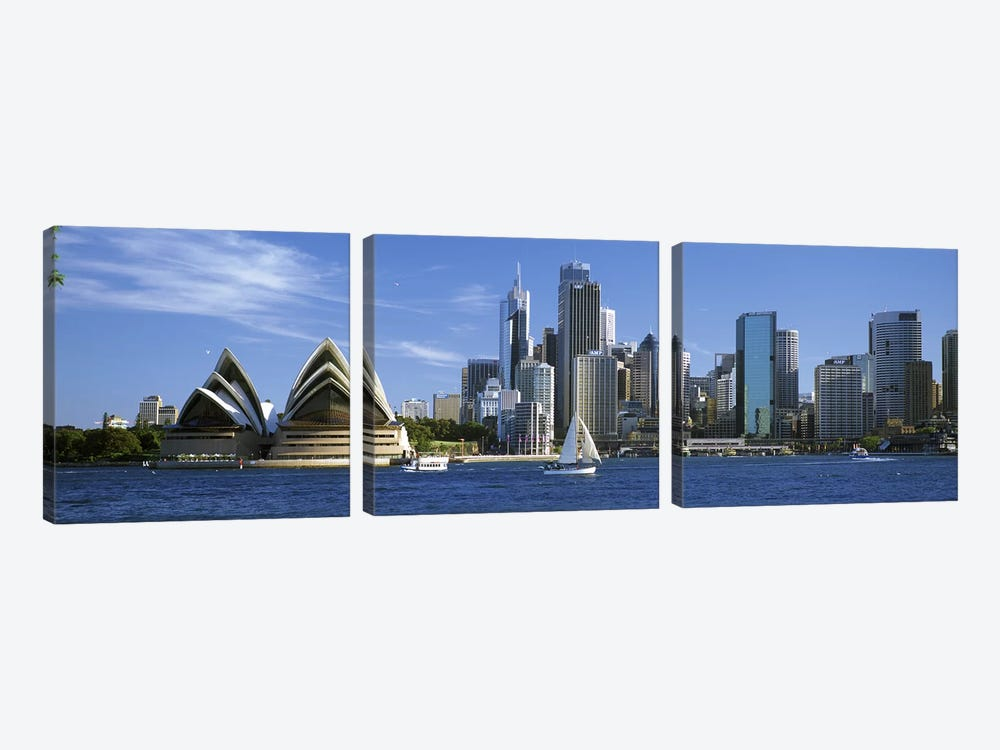 Central Business District Skyline, Sydney, New South Wales, Australia by Panoramic Images 3-piece Art Print