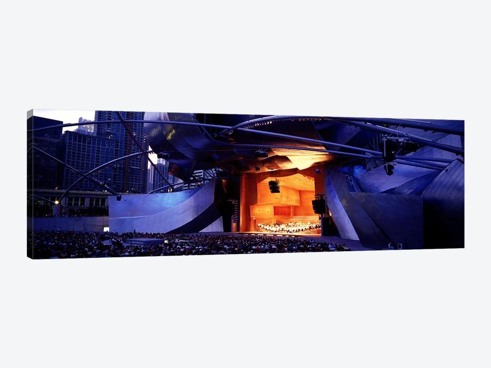 USAIllinois, Chicago, Millennium Park, Pritzker Pavilion by Panoramic Images 1-piece Canvas Wall Art