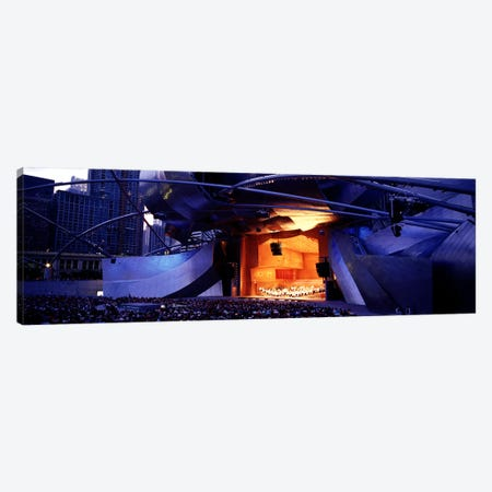 USAIllinois, Chicago, Millennium Park, Pritzker Pavilion Canvas Print #PIM4642} by Panoramic Images Canvas Print