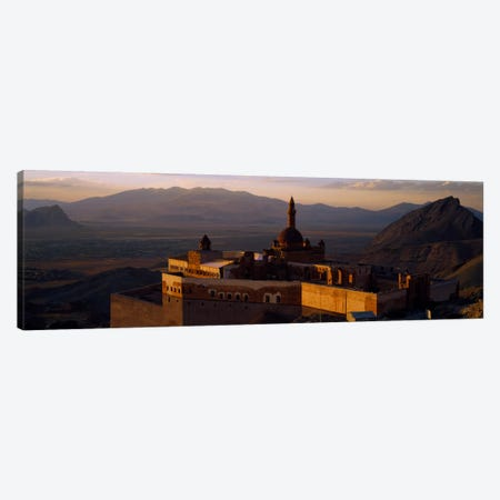 High angle view of a palace, Ishak Pasha Palace, Dogubeyazit, Turkey Canvas Print #PIM464} by Panoramic Images Canvas Print