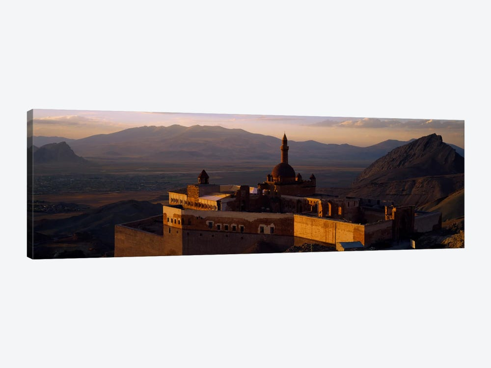 High angle view of a palace, Ishak Pasha Palace, Dogubeyazit, Turkey by Panoramic Images 1-piece Canvas Print