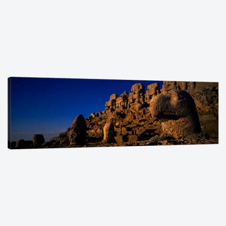 Rocks on a cliff, Mount Nemrut, Nemrud Dagh, Cappadocia, Antolia, Turkey Canvas Print #PIM466} by Panoramic Images Canvas Art Print