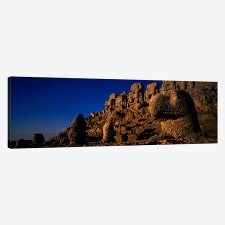 Rocks on a cliff, Mount Nemrut, Nemrud Dagh, Cappadocia, Antolia, Turkey Canvas Print #PIM466} by Panoramic Images Canvas Art Print